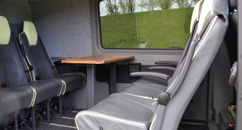 8 sits comfort VW Crafter