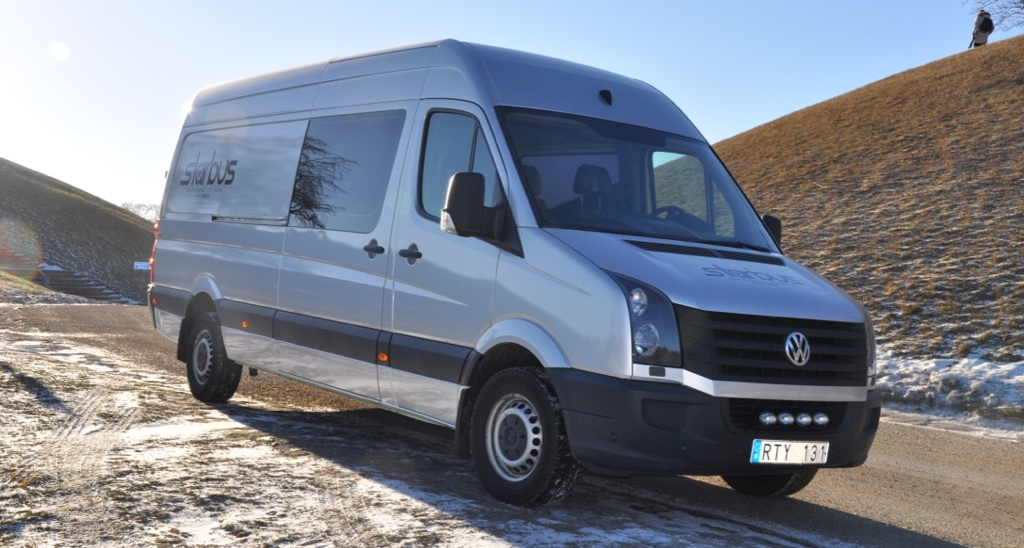 5/6 sits comfort VW Crafter