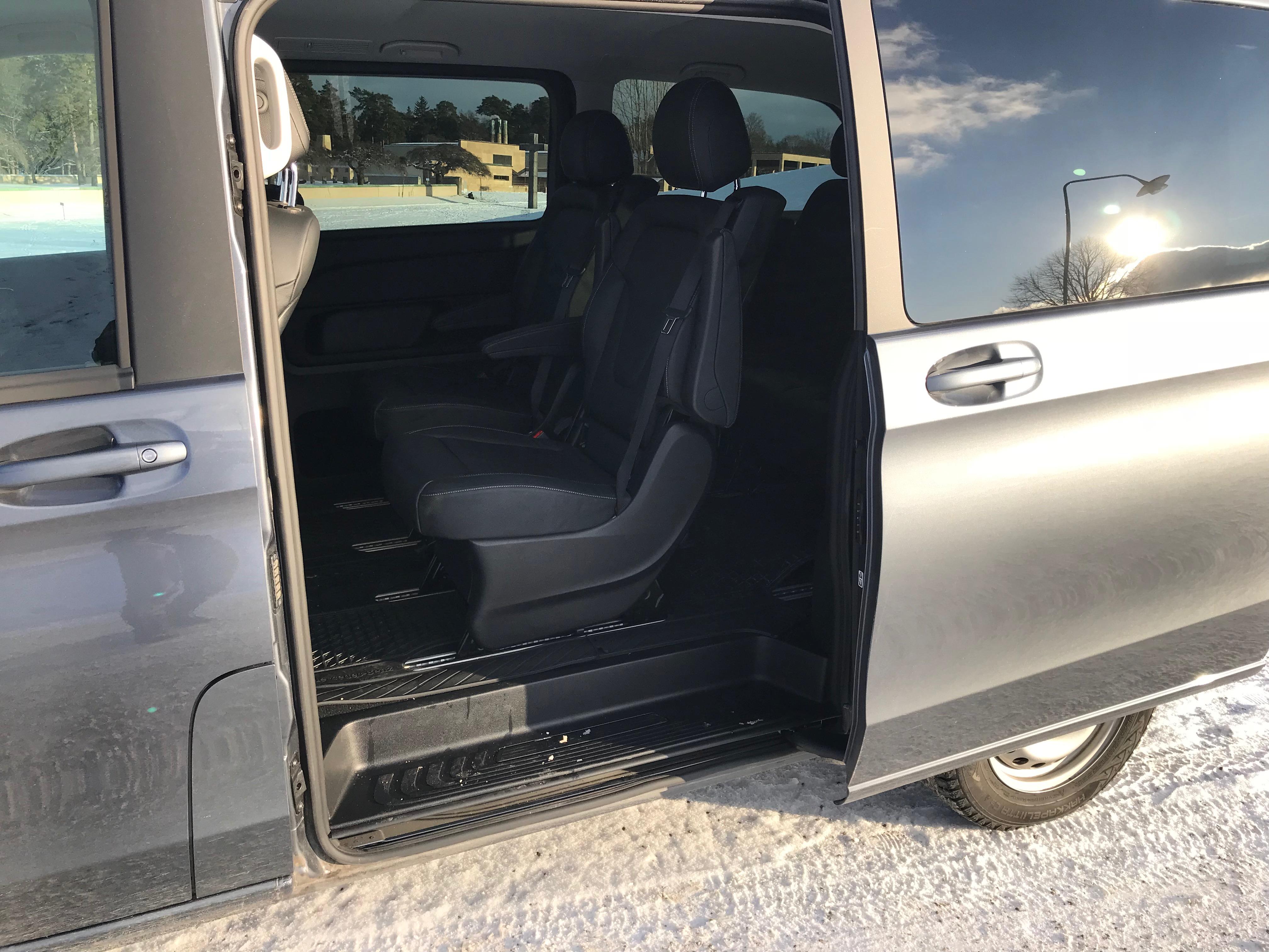 7 sits Premium Mb V-klass 220 D